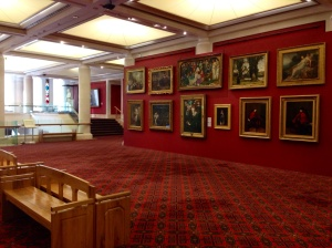 Victorian and modern paintings to browse in a really quiet gallery